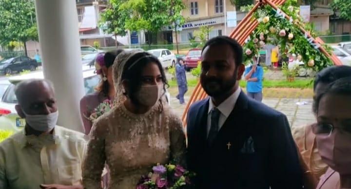 Miya George wedding