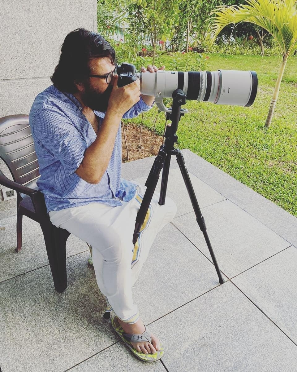 Mammootty photographer