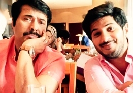 Dulquer Salmaan reveals Mammootty's 150 days personal record!