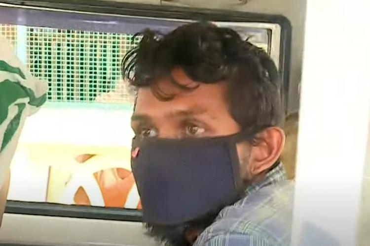 kerala man assaults mother
