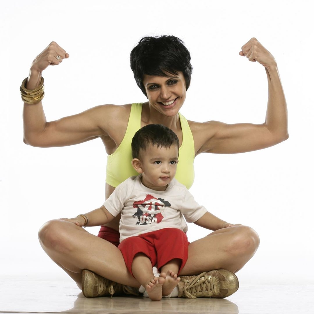 Mandira bedi son daughter