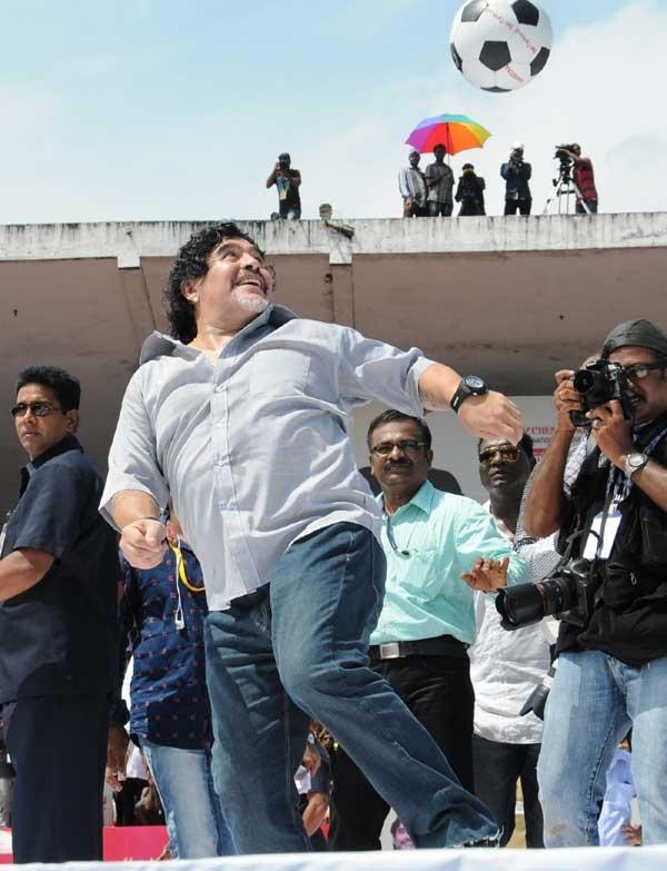 maradona death ranjini Haridas