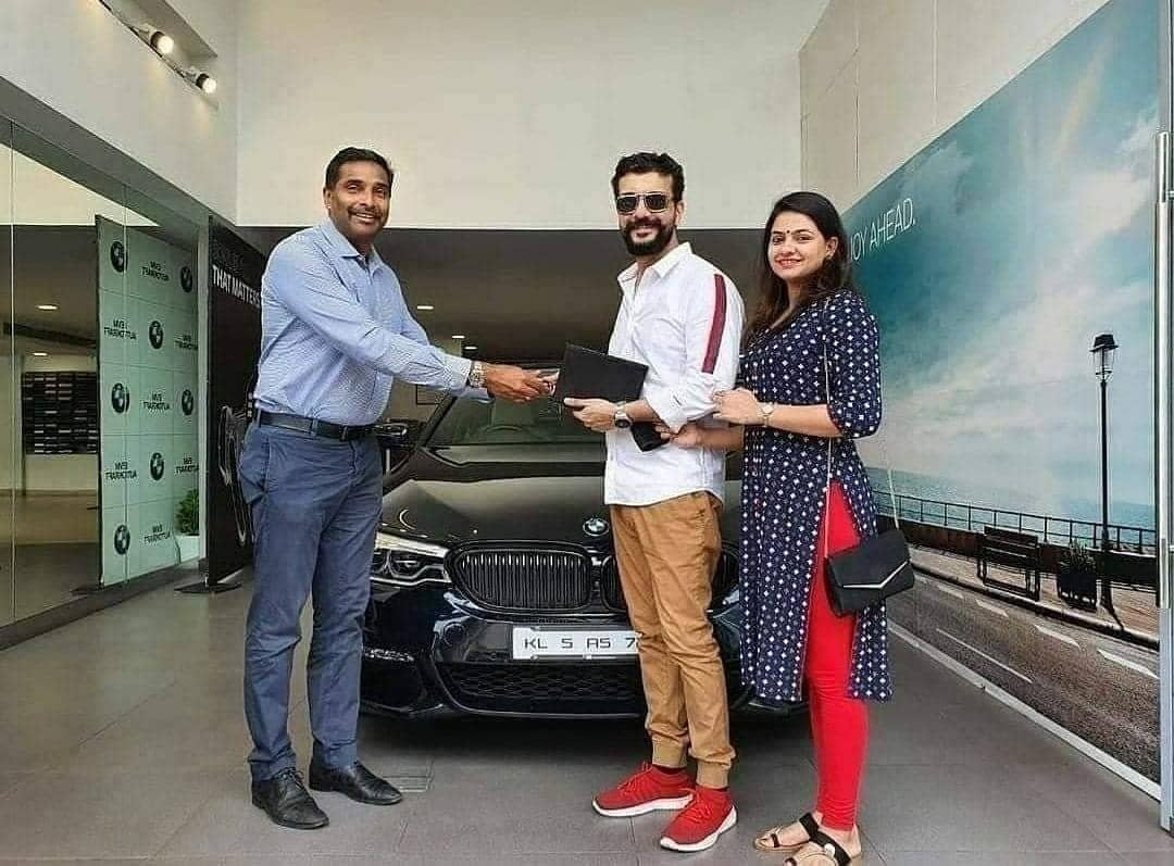 Ramesh pisharaody new car