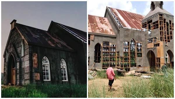 minnal murali set destroyed
