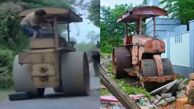 mohanlal road roller