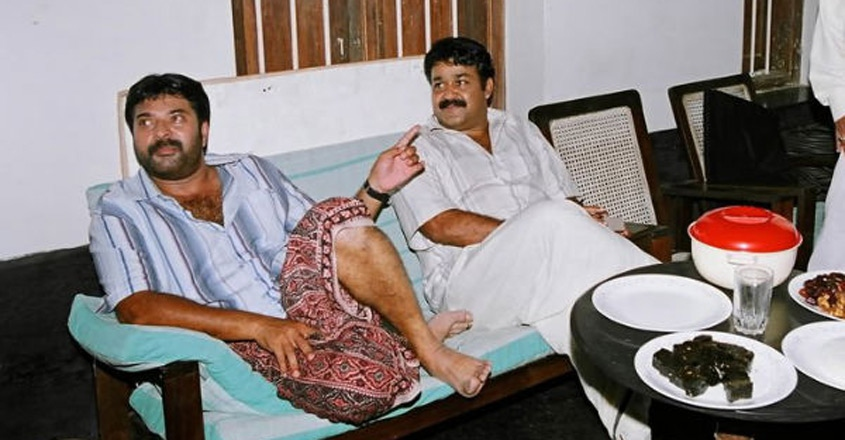 """Why should I compete with Mammootty?,"""" asks Mohanlal - Malayalam News -  IndiaGlitz.com"""