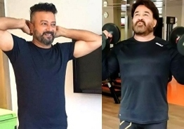 Mohanlal and Jayaram WOW fans with their workout videos