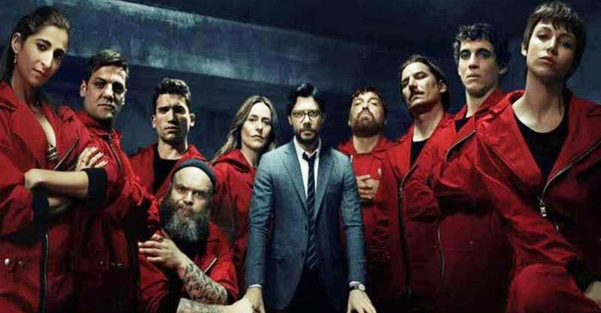 money heist team