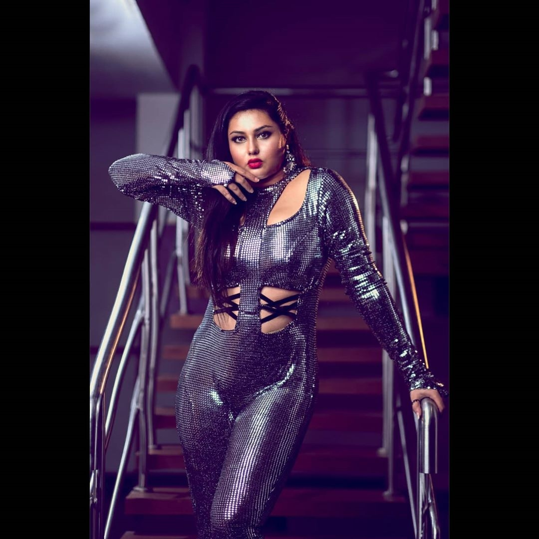 Namitha well accident