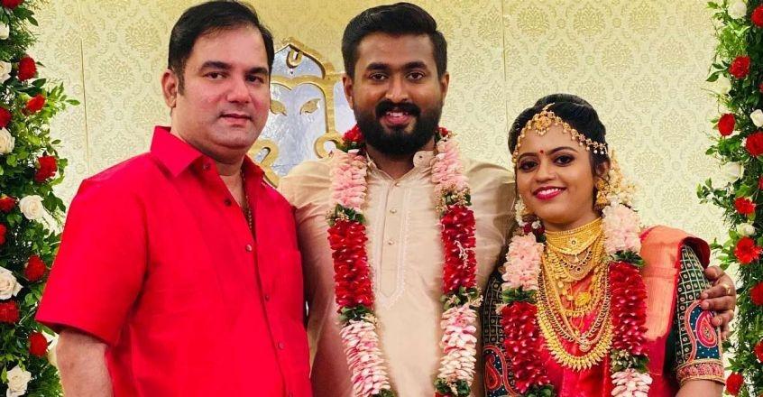 Navya Nair brother wedding