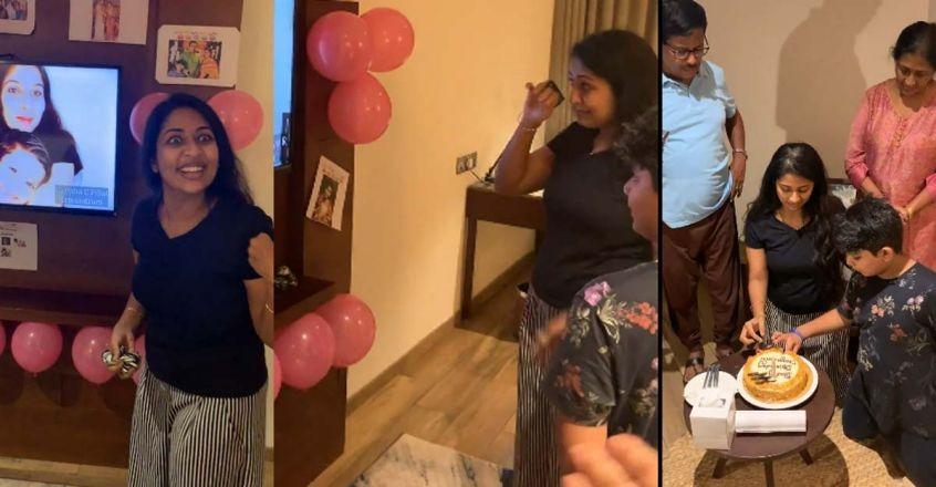 navya nair birthday celebration