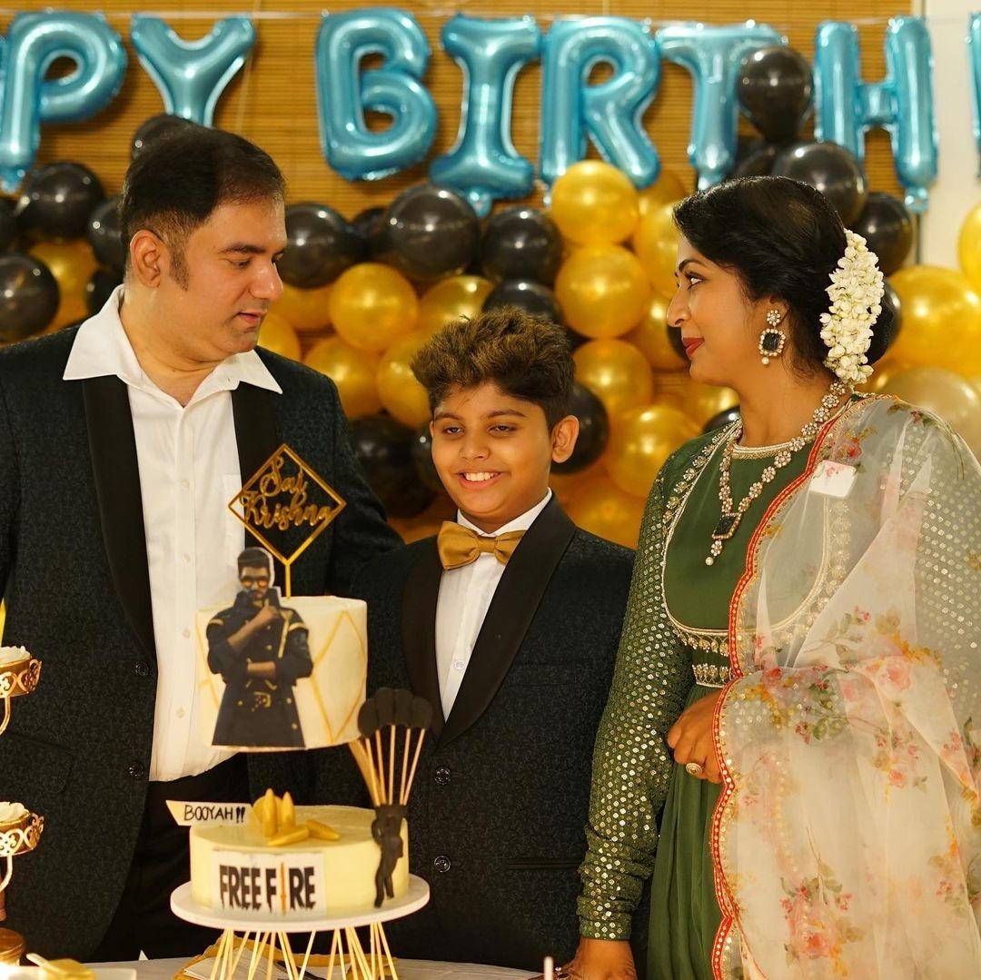 Navya nair son birthday