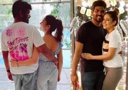 Vignesh Shivn celebrates his birthday with Nayanthara; Romantic pic goes viral!