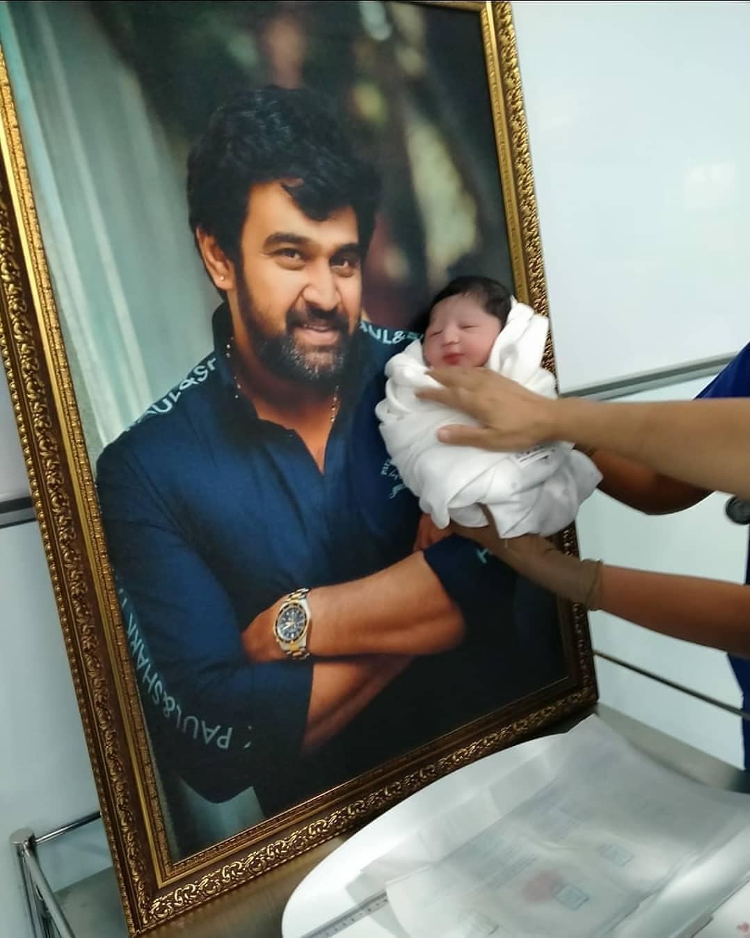 Meghana baby boy nazriya