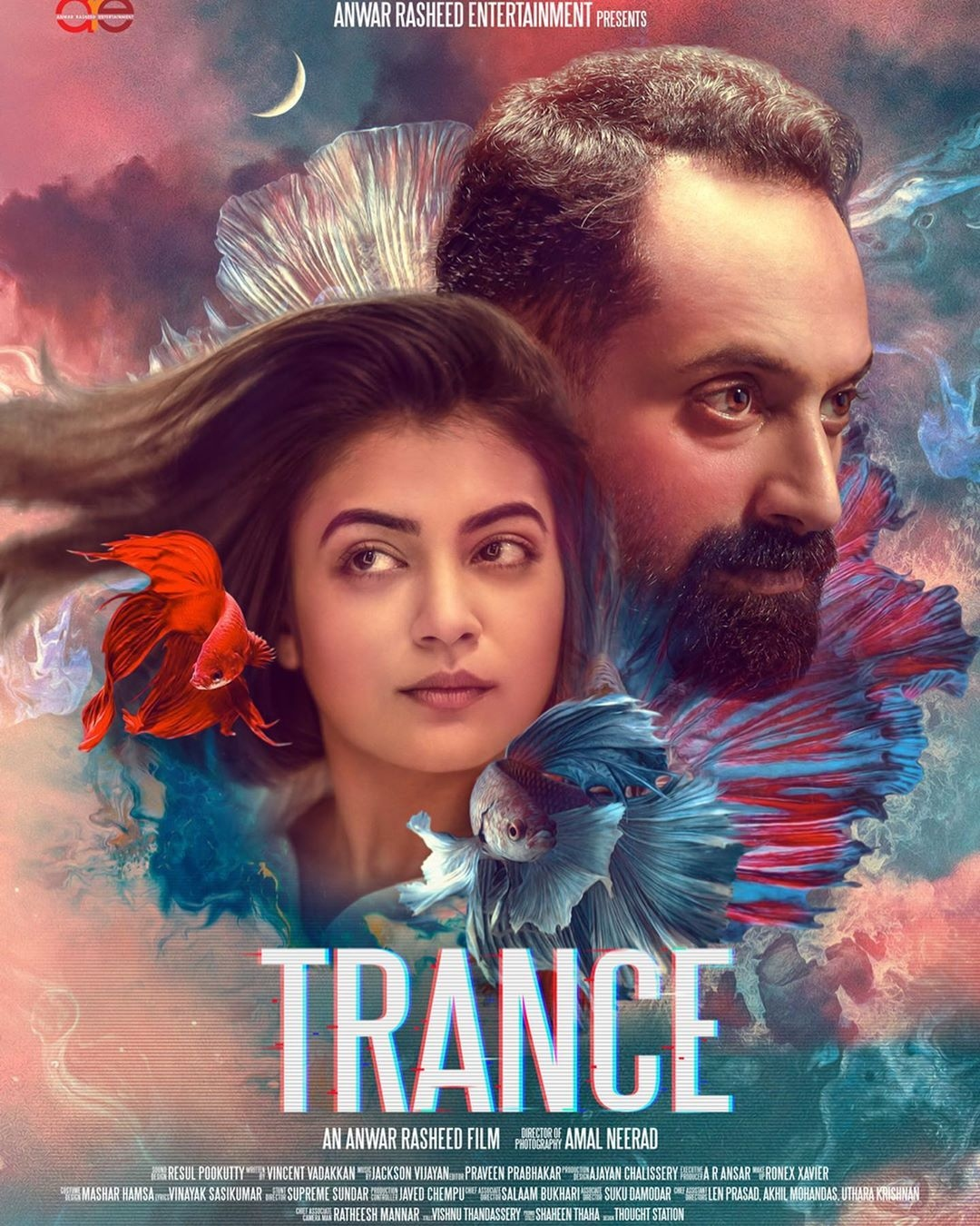 fahadh trance movie