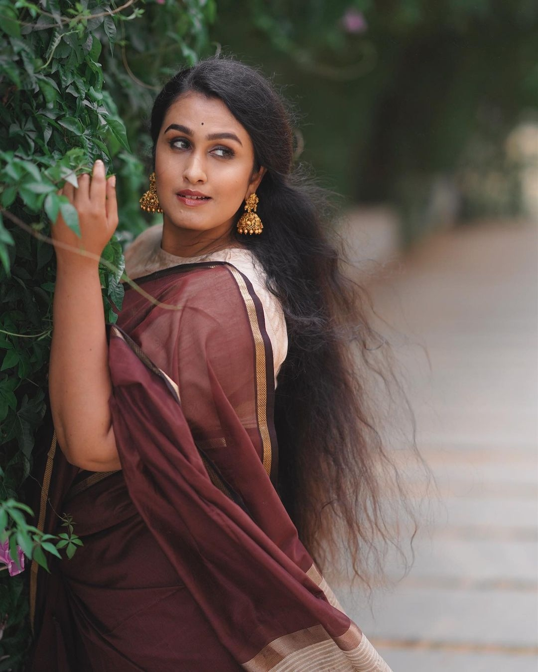 Kavitha Nair saree
