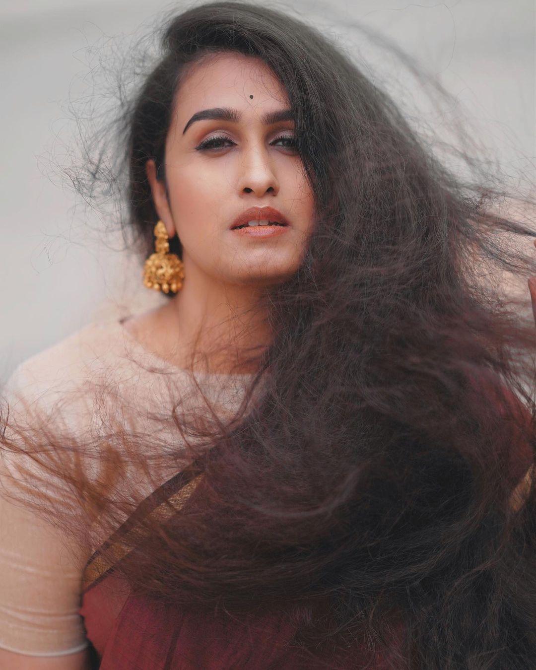 Kavitha actress saree