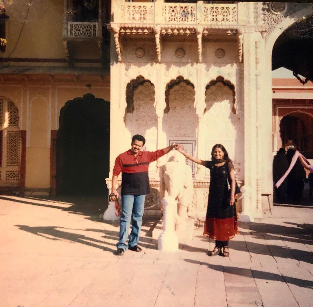 poornima indrajith photos honeymoon