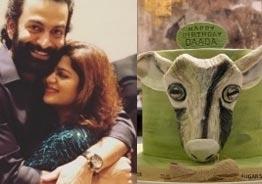 Prithviraj's birthday: Supriya's GOAT cake and lovey dovey birthday wish go viral!