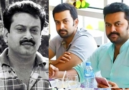 Prithviraj and Indrajith share emotional post on their father