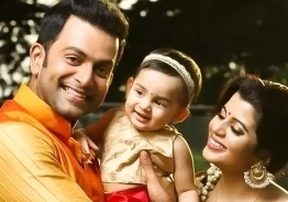 Wow! Prithviraj to film his 6-year-old daughter's storyline