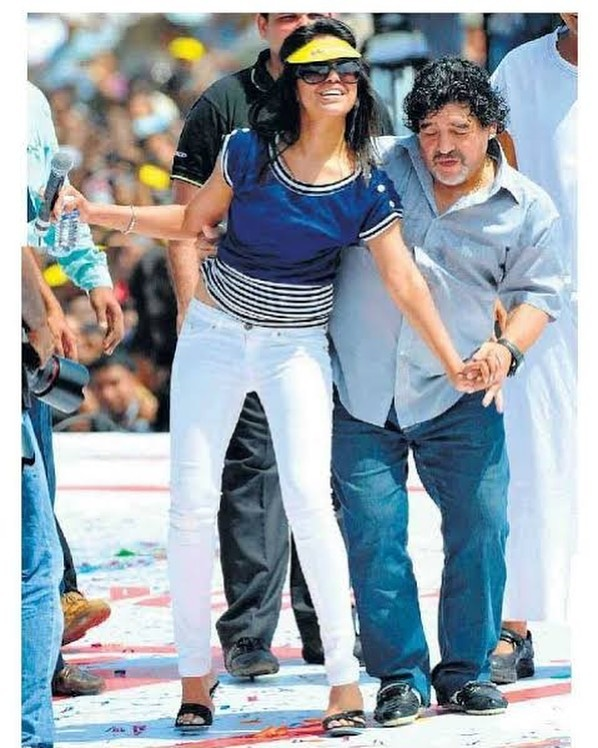 ranjini haridas Maradona