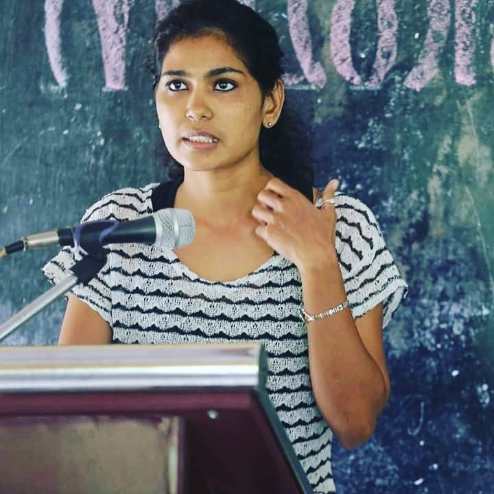 Rehana Fathima Arrested For Making Her Kids Draw On Her Half Naked Body Malayalam News Indiaglitz Com