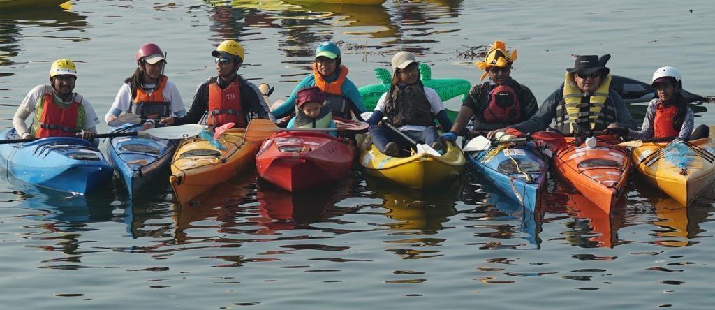 Revathi Kayaking
