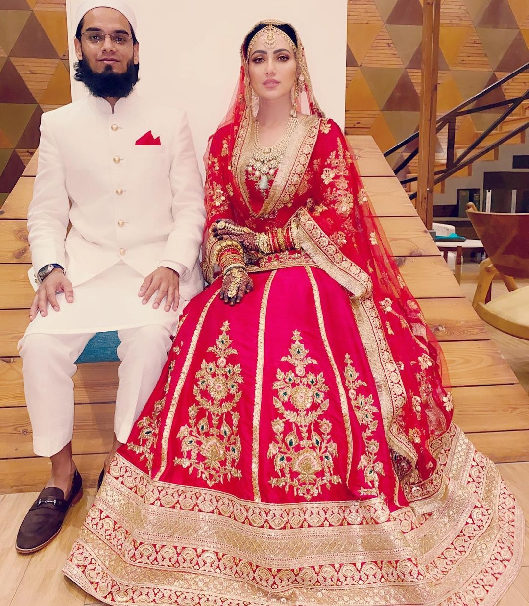sana khan wedding Anas