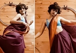 Watch: This young girl's hoop dance in saree awes netizens!