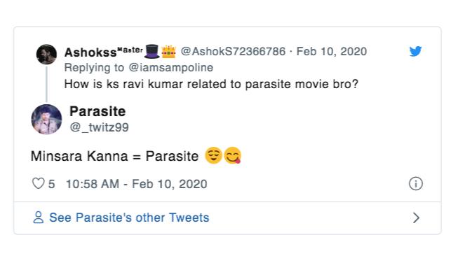 parasite vijay
