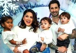 Sunny Leone pens an emotional note for her daughter