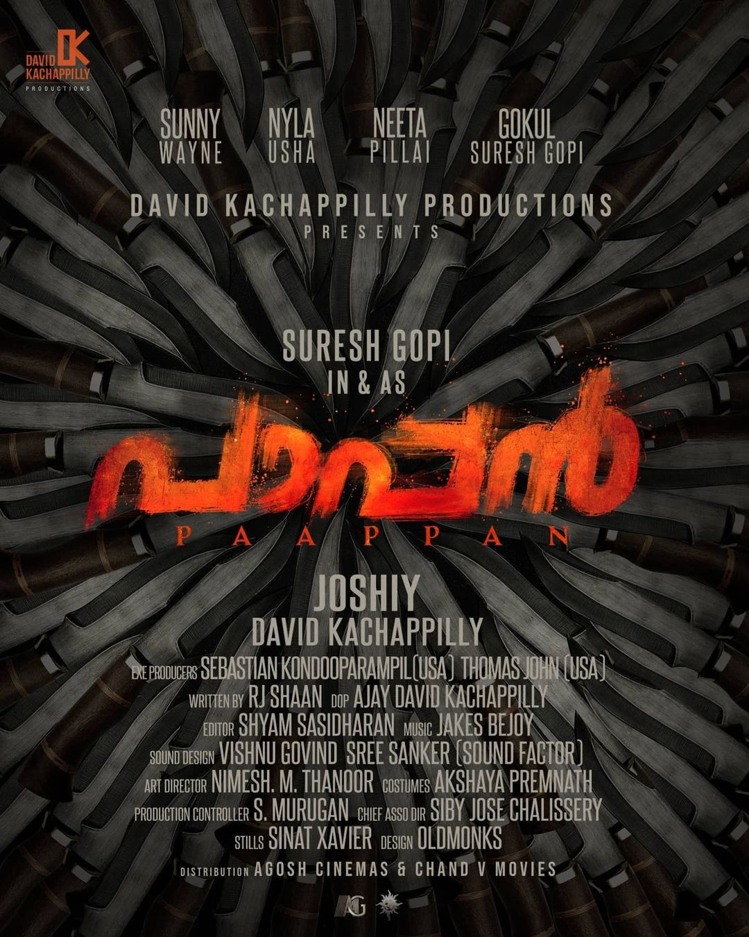 paappan first look