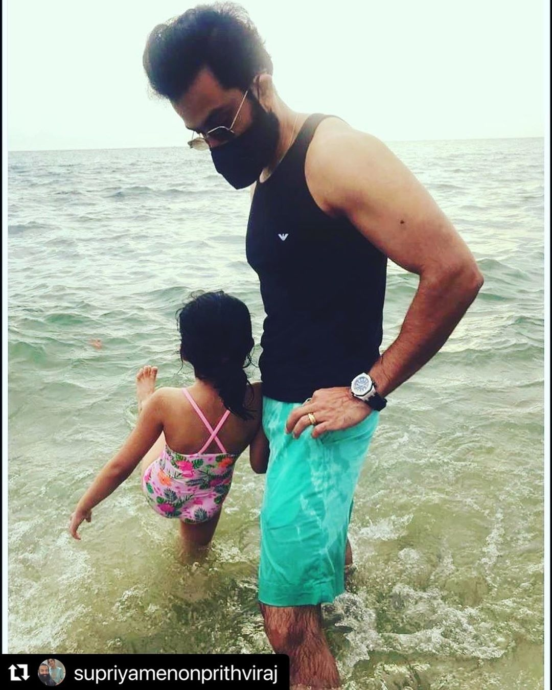 Prithviraj daughter 43
