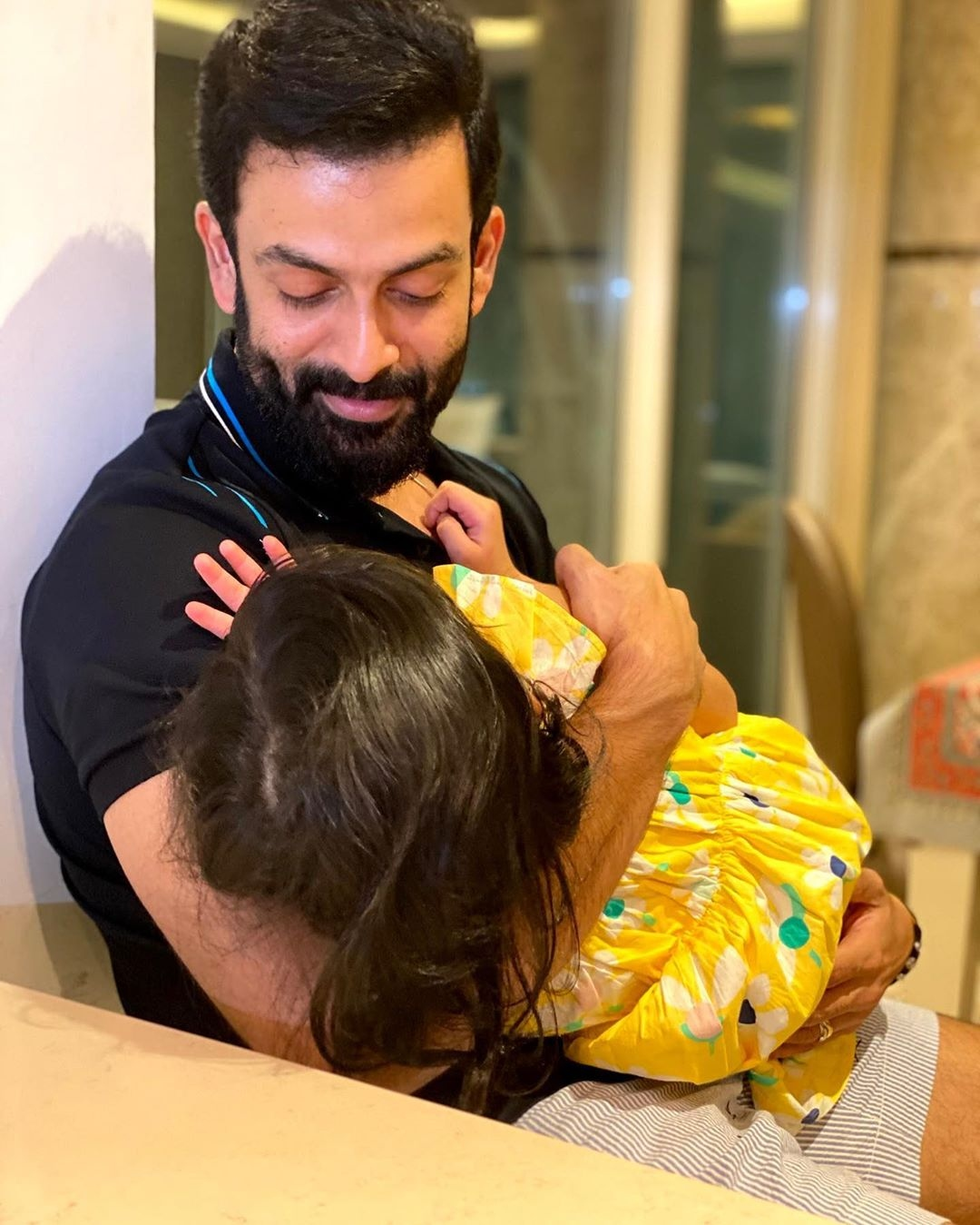 Prithviraj daughter