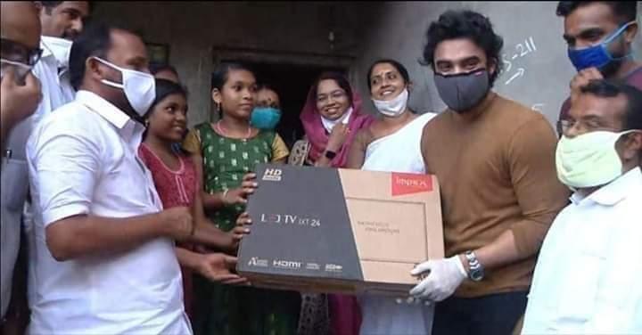 tv donation tovino thomas