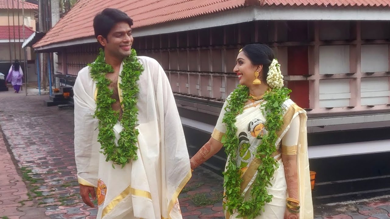 utthara unni wedding
