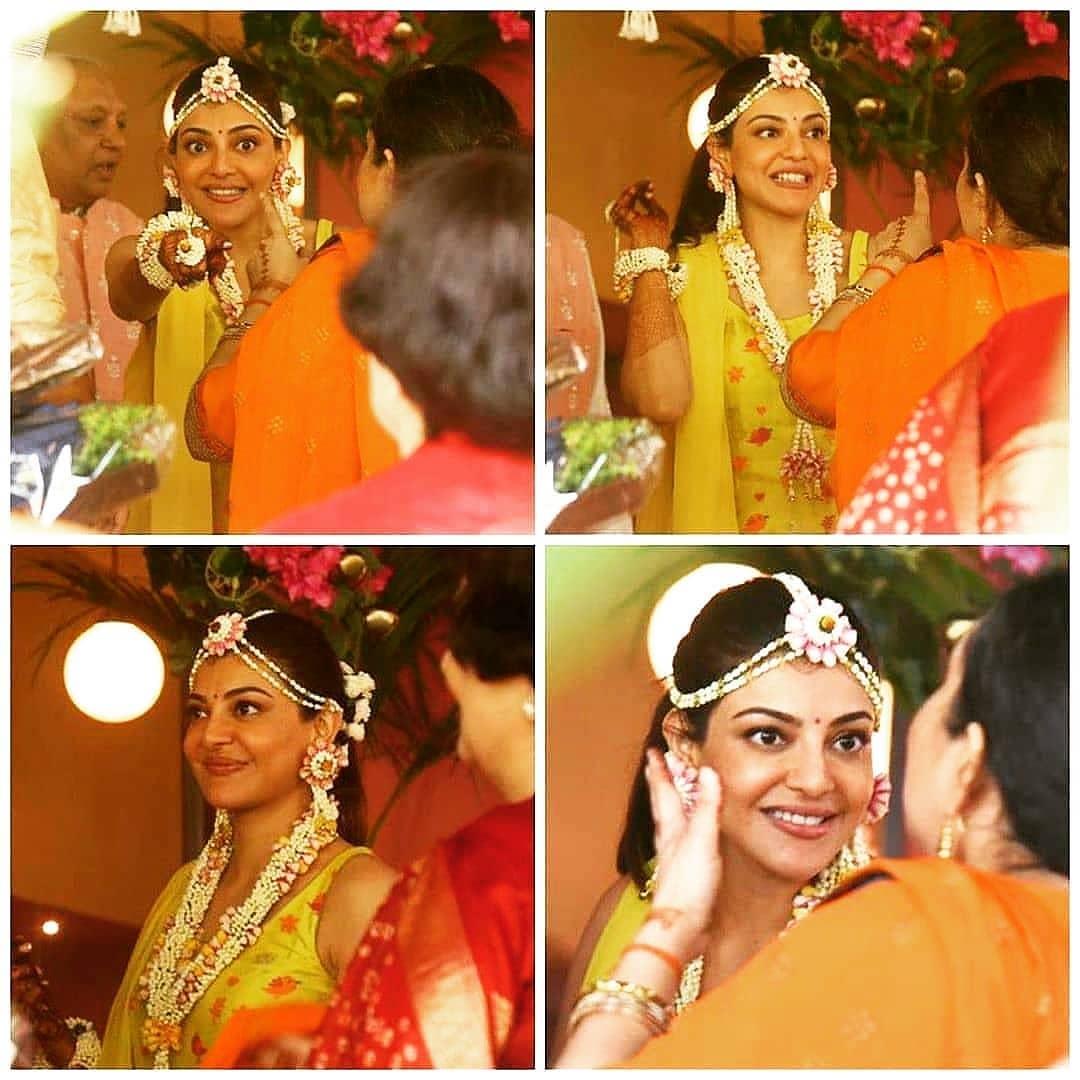 kajal aggarwal wedding photos