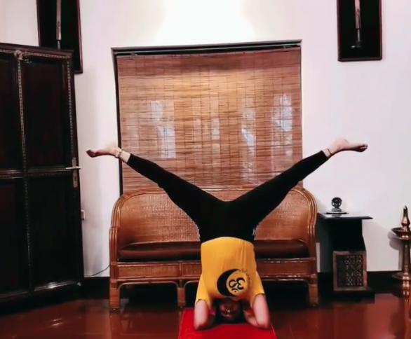 yoga samyuktha pics