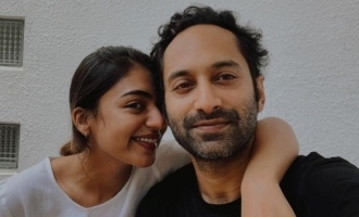 Nazriya Nazim shares the health status of Fahadh Faasil