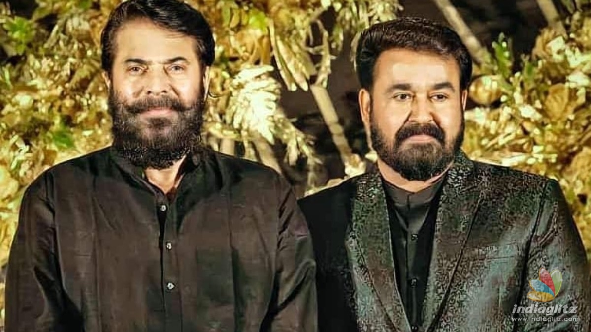 Viral pic: When Mohanlal visited Mammoottys new house