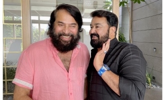 Viral pic: When Mohanlal visited Mammootty's new house