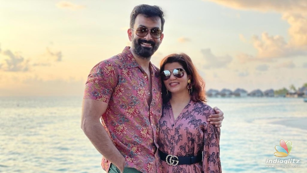 VIRAL: Prithviraj shares a shirtless pictures from Maldives