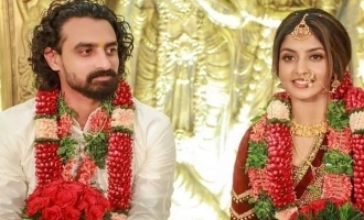 Joseph fame actress Athmiya Rajan enters wedlock