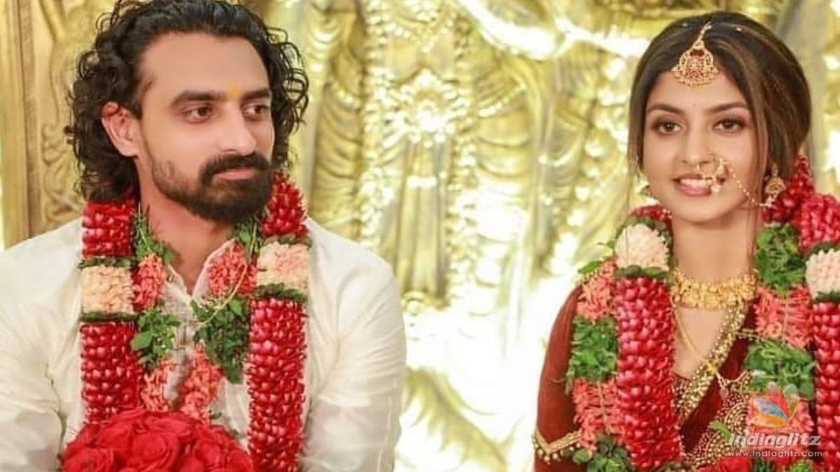Watch: Celebs galore at actress Aathmiyas wedding reception
