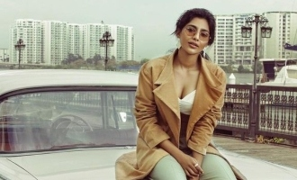 Jagame Thandhiram actress Aishwarya Lekshmi tests positive for COVID-19