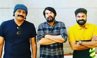 Mammootty's next is a BIG budget movie!