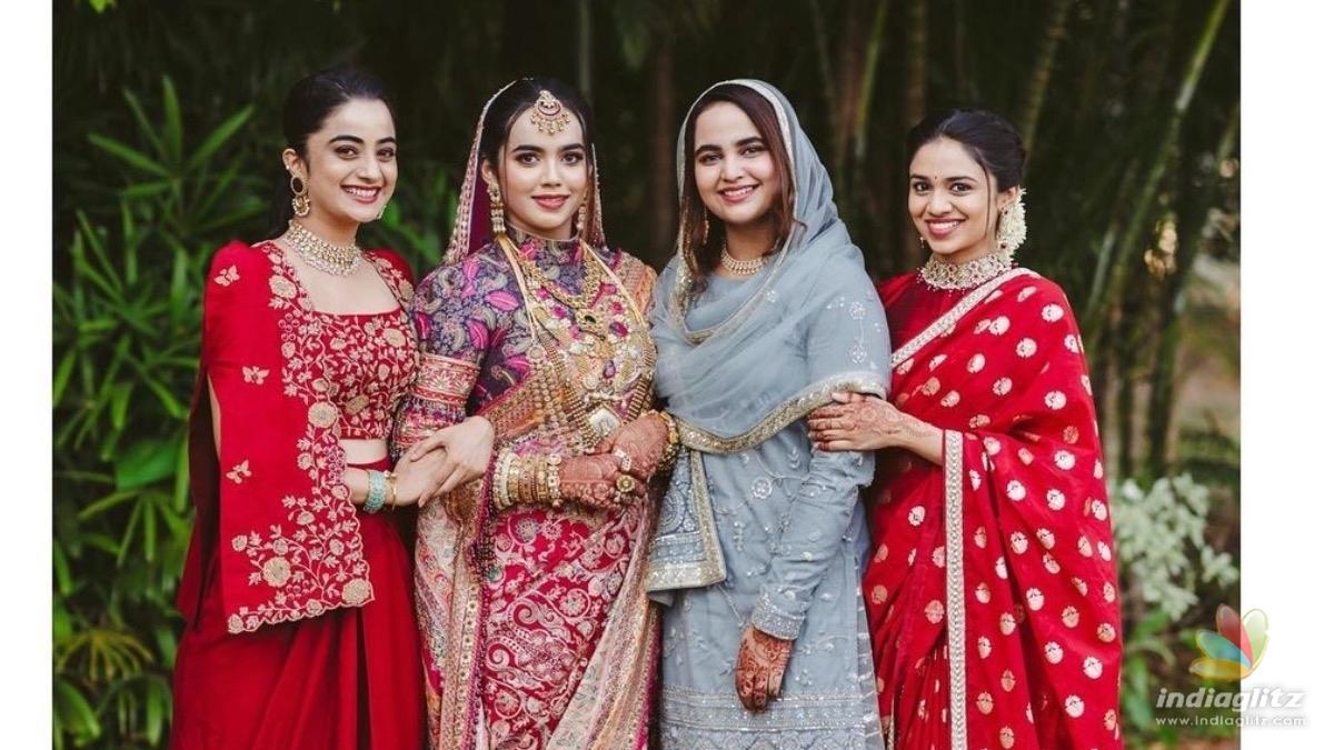 Namitha Pramod shares adorable clicks with Kavya Madhavan and Meenakshi Dileep