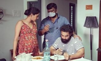 Kaanekkane: Aishwarya Lekshmi shares a picture flaunting baby bump