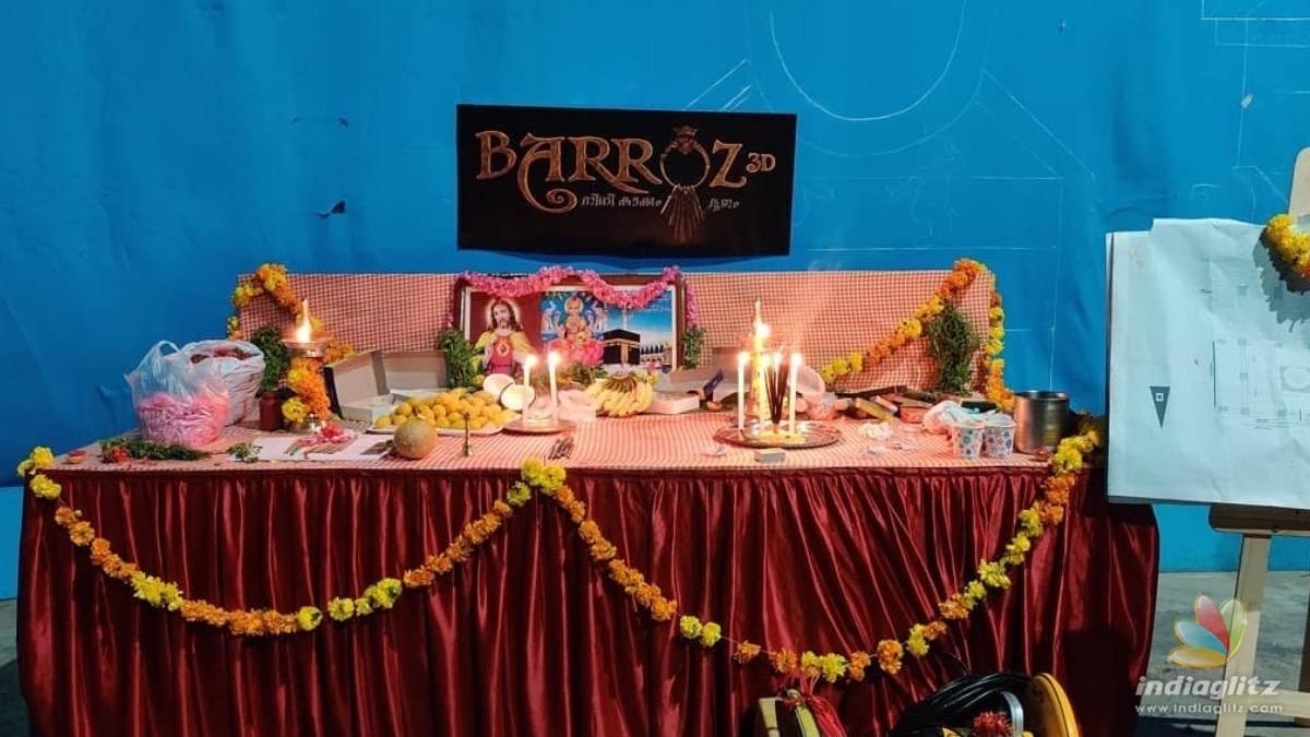 BIG update on Mohanlals directorial debut Barozz